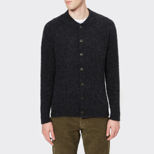 Howlin' Men's Four Eyes Buttoned Cardigan - Charcoal