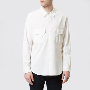 PS Paul Smith Men's Casual Fit Shirt - Off White