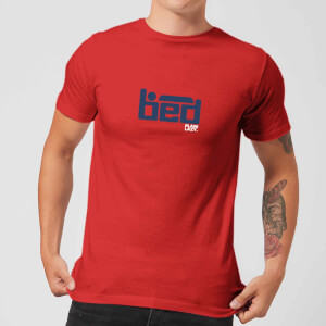 Plain Lazy BED Men's T-Shirt - Red