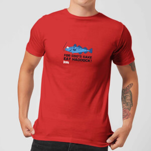 Plain Lazy for Cod's Sake Men's T-Shirt - Red