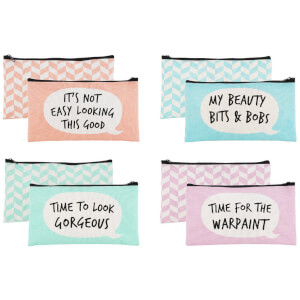 Assorted Cheeky Bubbles Make Up Bags