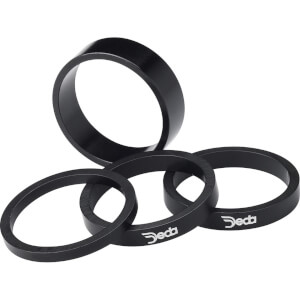 "Deda Alloy Spacer 1""""1/8 10pk - Black - 5mm"