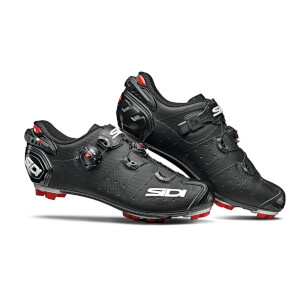 Sidi Drako 2 SRS Matt MTB Shoes - Matt Black