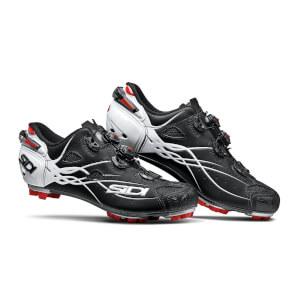 Sidi Tiger Carbon MTB Shoes - Matt Black/Gloss White