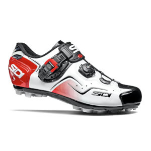 Sidi Cape MTB Shoes - White/Black/Red