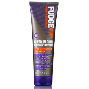 Clean Blonde Damage Rewind Violet Toning Shampoo 250ml