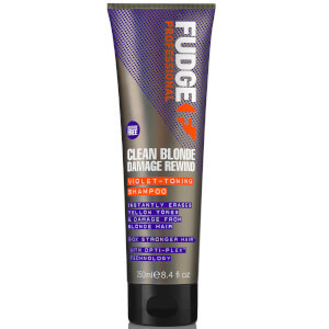 Champú reparador Clean Blonde Damage Rewind de Fudge 250 ml