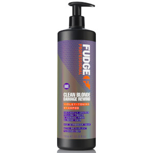 Champú reparador Clean Blonde Damage Rewind de Fudge 1000 ml