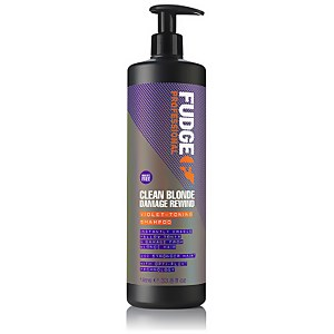 Clean Blonde Damage Rewind Violet Toning Shampoo 1000ml