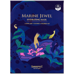 SHANGPREE Marine Jewel Hydrating Mask 30 ml (5-teilig)