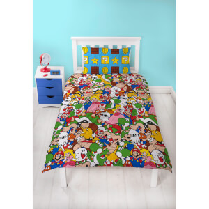 Mario Gang Duvet Set - Single