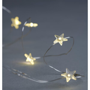 Sirius Trille Star 20 LED String Lights - 1.9m
