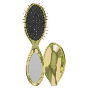 WetBrush Mini Pop Fold Hair Brush - Gold