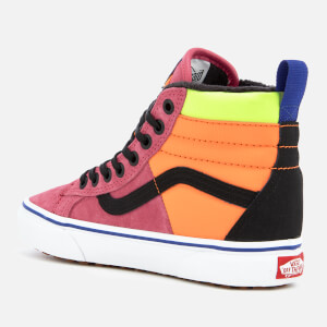 e960be2b1cf Vans Women s Sk8-Hi Trainers 46 MTE DX - Pink Yarrow Tangerine Black ...