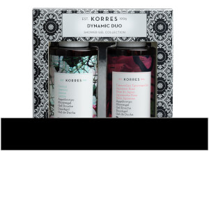 KORRES Dynamic Duo Japanese Rose and Jasmine Shower Gel Collection