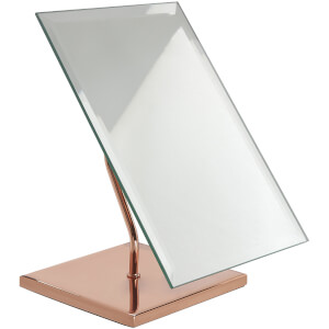 Premier Housewares Clara Table Mirror - Rose Gold/Stainless Steel