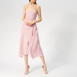 Bec & Bridge Women's Love Sensation Wrap Dress - Mini Floral Pink