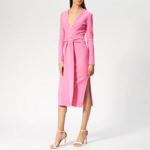 Bec & Bridge Women's Margaux Plunge Dress - Fuchsia