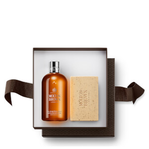 Molton Brown Recharge Black Pepper Bathing Gift Set (Worth $54.00)