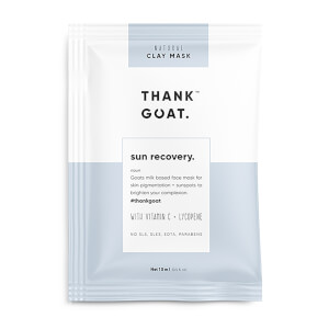 Thank Goat Sun Recovery Mask (1 Piece)