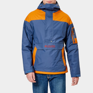 Columbia Men's Challenger Pullover Jacket - Dark Mountain/Bright Copper