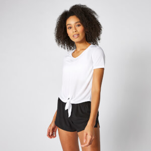 T-Shirt manche courte Twist - White