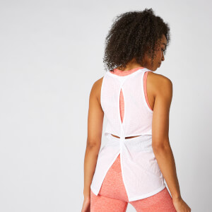 Bliss Burnout Vest - Vit