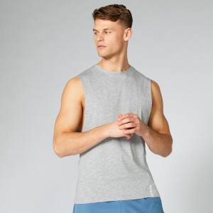 Luxe Classic Drop Tank - Silver