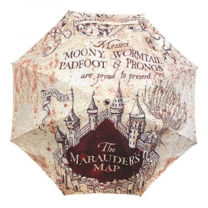 Harry Potter Marauders Map Regenschirm