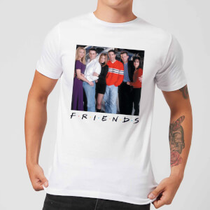 Friends Cast Pose Men's T-Shirt - White