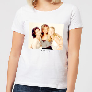 Friends Girls Women's T-Shirt - White