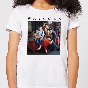 Friends Classic Character Women's T-Shirt - White