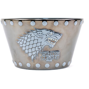 Game of Thrones Stark Stud Relief Bowl