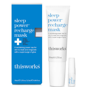 this works Sleep Power Recharge Mask 50 ml