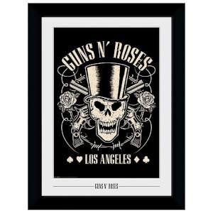 Guns N' Roses Los Angeles Framed 20 x 27 Inches Print