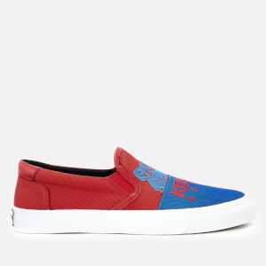 KENZO Women's K-Skate New Tiger Slip-On Trainers - Medium Red