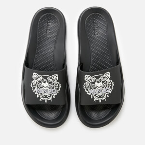 KENZO Men's Pool Slide Sandals - Black