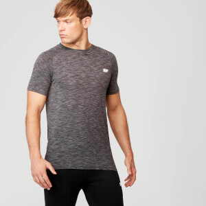 Performance Short Sleeve Top - Gråmelerad