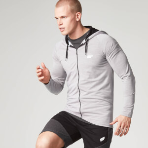 Performance Zip Top - Grey
