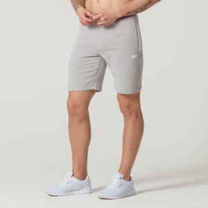 Myprotein Tru-Fit Zip Sweatshorts - Grey