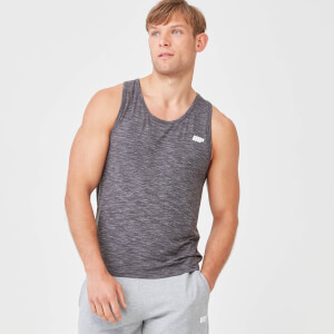Performance Tank Top - Kohlekalk