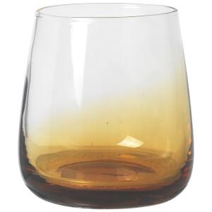 Broste Copenhagen Amber Tumbler Glass - Mouthblown Caramel