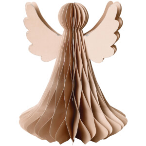 Broste Copenhagen Paper Angel - Large - Dusky Pink