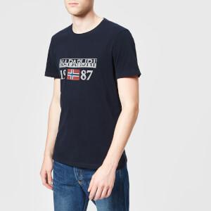 Napapijri Men's Solin T-Shirt - Blue Marine
