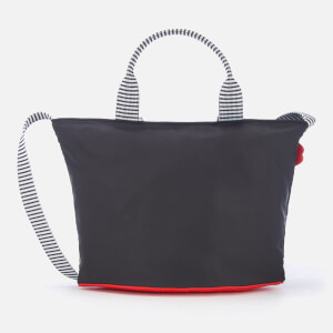 Lulu Guinness Women's Small Lip Base Lola Cross Body Bag - Black