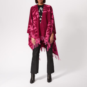 McQ Alexander McQueen Women's Cut Up Swallow Scarf - Cherry Red/Hot Pink