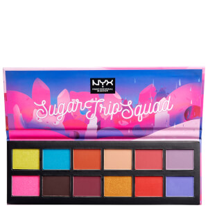 NYX Professional Makeup Sugar Trip Squad Eye Shadow Palette