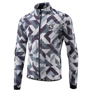 Morvelo Winter Attack Hydrologic Road Rain Jacket - Grey/White