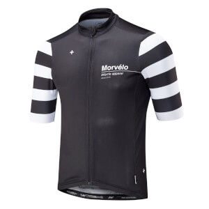 Morvelo Swiss Nth Series Short Sleeve Jersey - Black/White