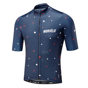 Morvelo Suits Nth Series Short Sleeve Jersey - Blue